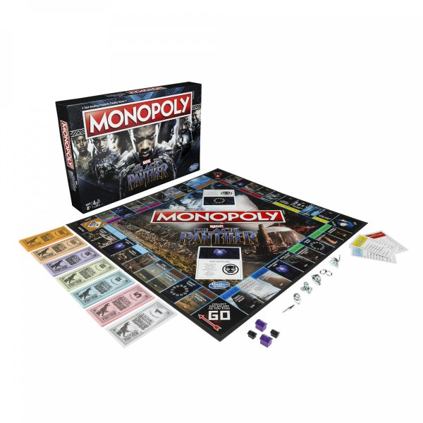 Marvel's Black Panther Monopoly MCU - image on https://pop.toys