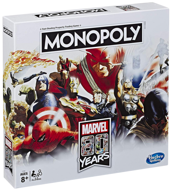 Marvel Monopoly 80th Anniversary Edition 80 years - image monopoly-marvel-80-year-anniversary-edition-600x673 on https://pop.toys